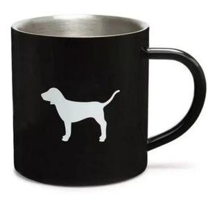 Pink Victoria secret mug stainless steel (Black)